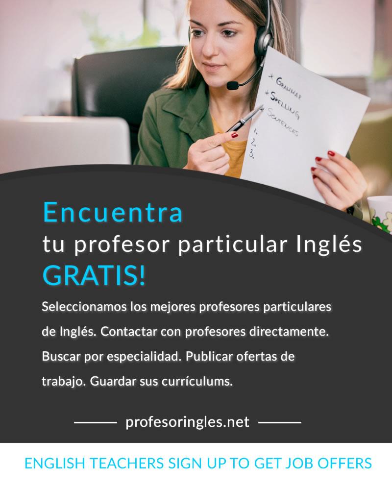 Tu Profesor De Ingles Profesores Particulares Y Nativos De Ingles