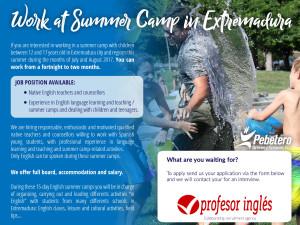 summer camps 2017 - Extremadura